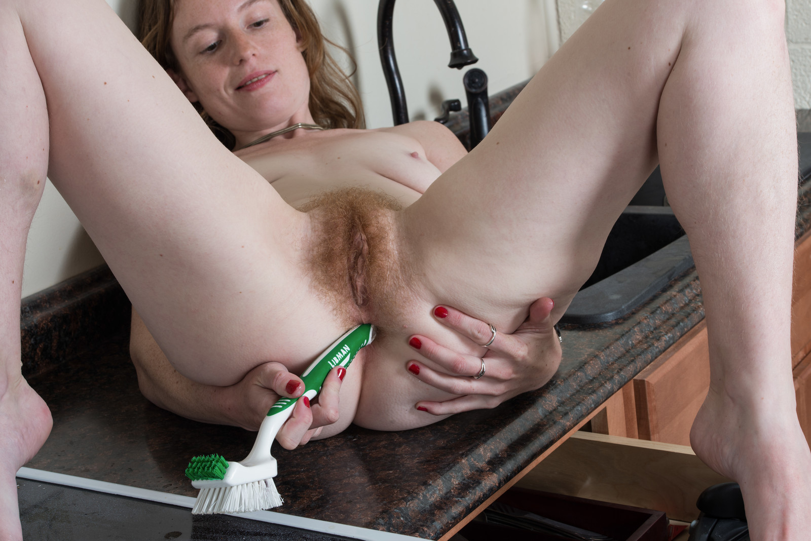 Clippers cock hair pubic shave