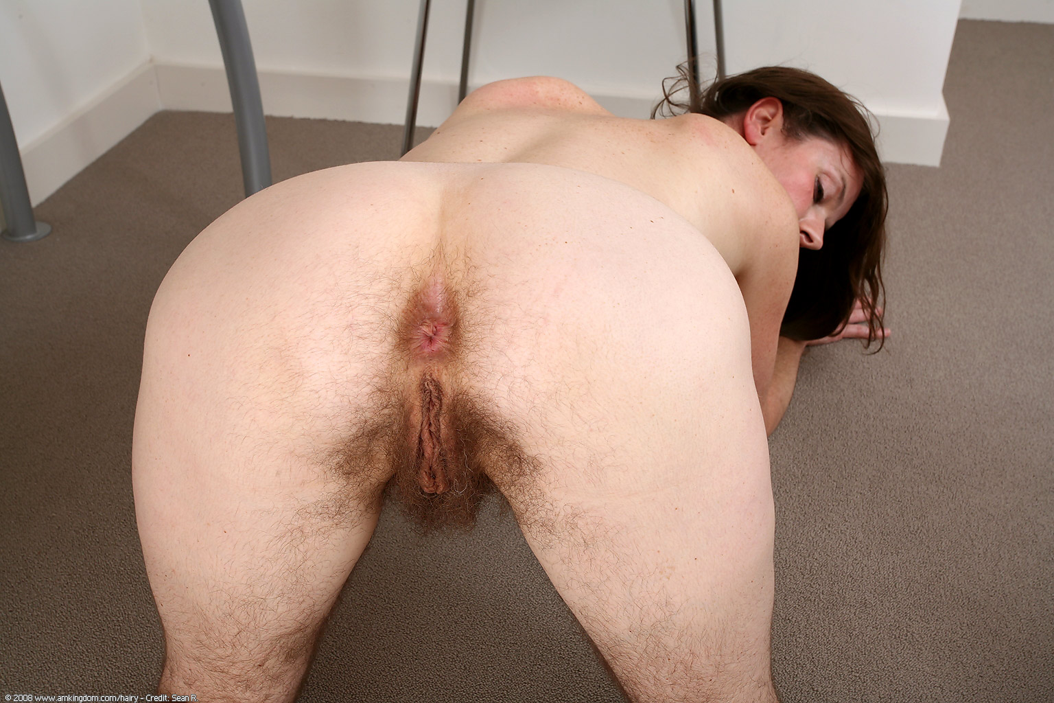 Natural hairy mature women-4265