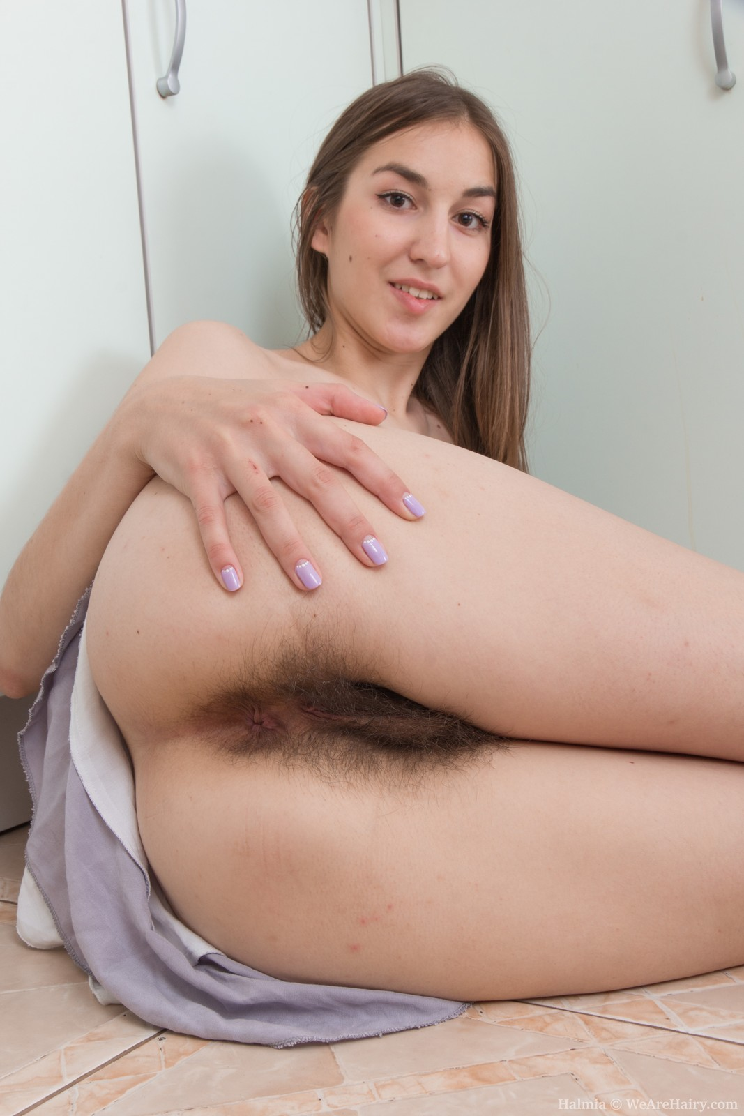 Hairy Armpits And A Bushy Cunt -- Hairyfemalespicscom-1777