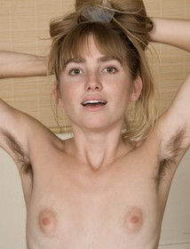 Hairy blonde pussy beautiful